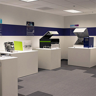 Ximedica projects displayed in Los Gatos office