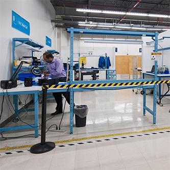 Work space in Ximedica lab in Ximedica llc