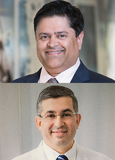 Akhil Saklecha, MD, Managing Director Ventures, Cleveland Clinic and Jihad Kaouk, MD, Professor & Zegarac-Pollock Endowed Chair in Robotic Surgery; Director, Center for Robotic & Image Guided Surgery; & Vice Chair of Enterprise Surgical Operations, Cleveland Clinic